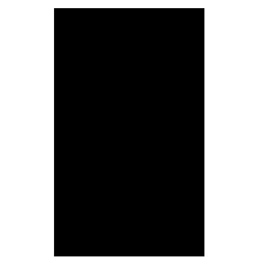 lined black color capital a letter alphabet png with transparent background