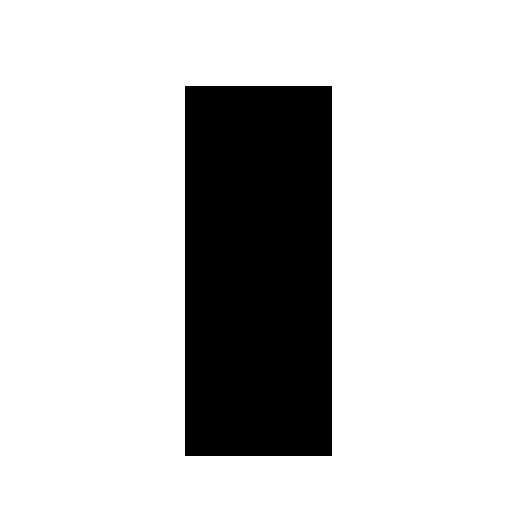 black color small letter j alphabet png with transparent background